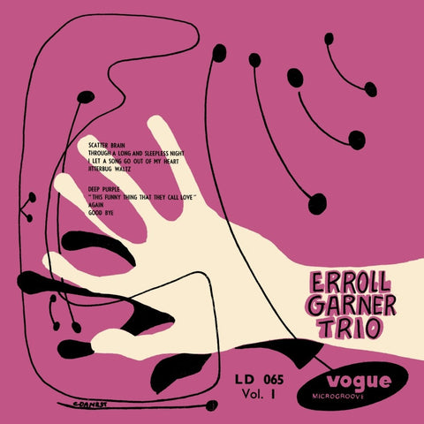 Errol Garner Trio 'Vol. 1' LP