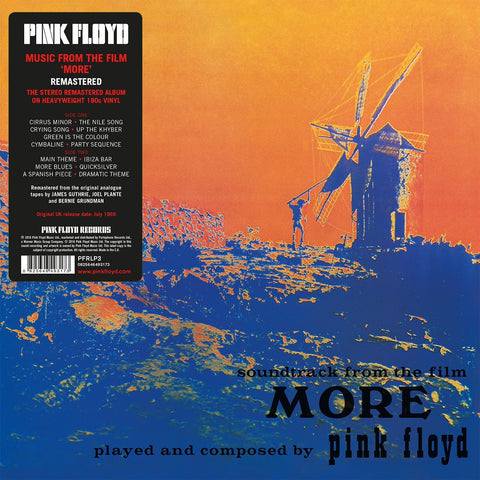Pink Floyd 'More' Soundtrack 180 Gram LP