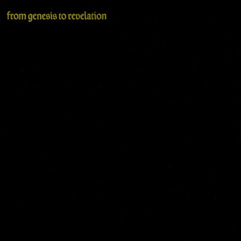 Genesis 'From Genesis To Revelation' LP (Mono Version)