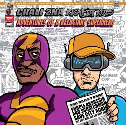 Chali 2NA & Krafty Kuts 'Adventures of a Reluctant Superhero' LP