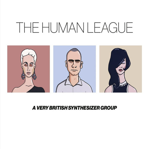 The Human League 'Anthology - A Very British Synthesizer Group' 3xLP Box Set