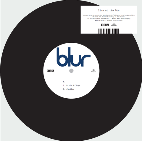 Blur 'Live At The BBC' 10""