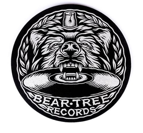"Bear Tree Records 12"" Slipmat"