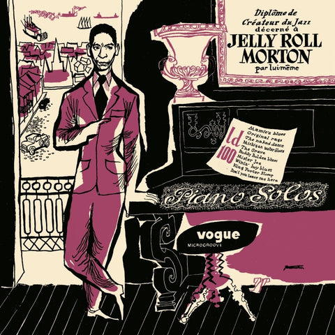 Jelly Roll Morton 'Piano Solos' LP