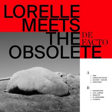 Lorelle Meets The Obsolete 'De Facto' LP