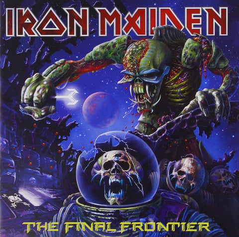 Iron Maiden 'The Final Frontier' 2xLP