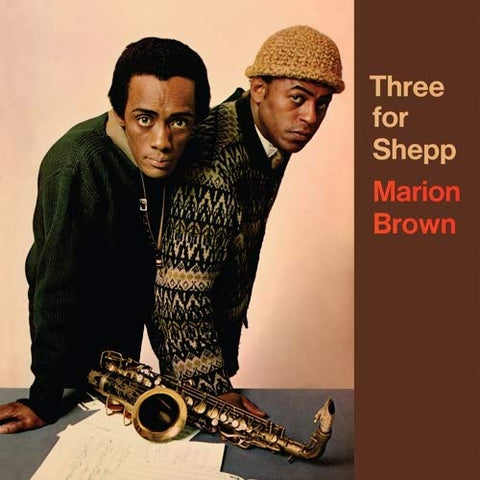 Marion Brown 'Three For Shepp' LP