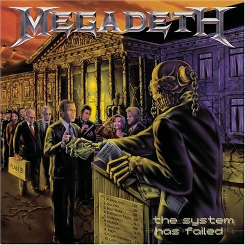 Megadeth 'The System Has Failed' LP