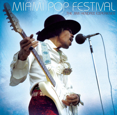 The Jimi Hendrix Experience 'Miami Pop Festival' 2xLP