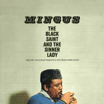 Charles Mingus 'The Black Saint and The Sinner Lady' LP Reissue