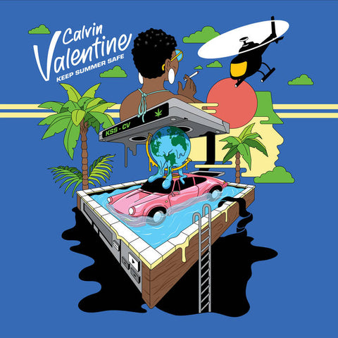 Calvin Valentine 'Keep Summer Safe' LP