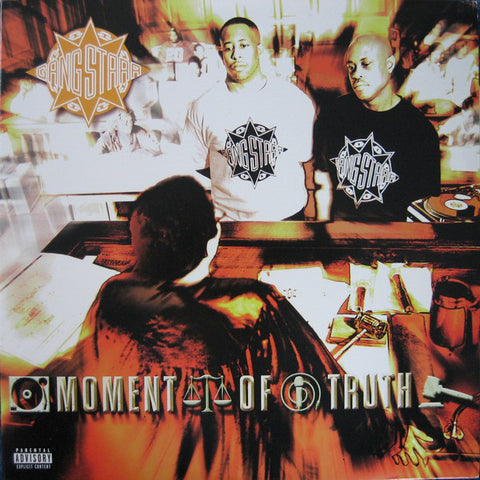 Gang Starr 'Moment Of Truth' 3xLP