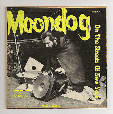 Moon Dog 'On The Streets Of New York' LP