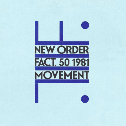New Order 'Movement' LP
