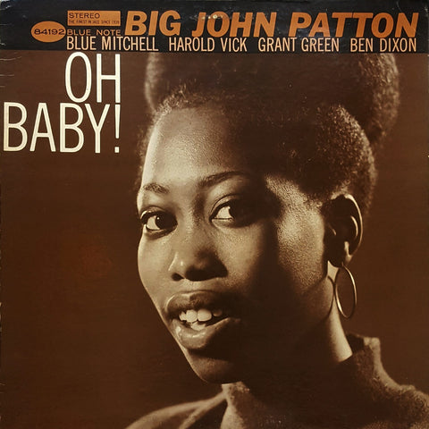 Big John Patton 'Oh Baby' LP