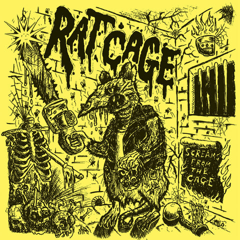 Rat Cage 'Screams From The Cage' LP