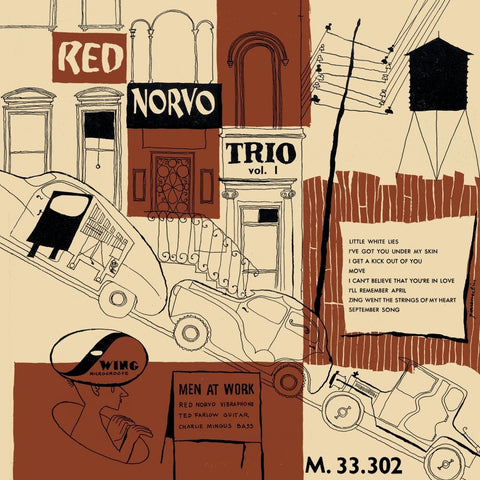 Red Norvo Trio 'Men At Work' LP