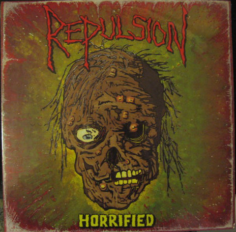 Repulsion 'Horrified Anniversary Picture Disc' LP