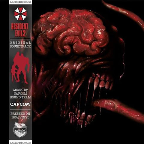 Capcom Sound Team 'Resident Evil 2 (Original Soundtrack)' 2xLP