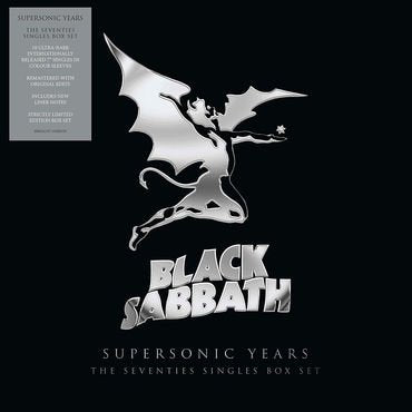 Black Sabbath 'Supersonic Years: The Seventies Singles Box Set' 10 x 7""