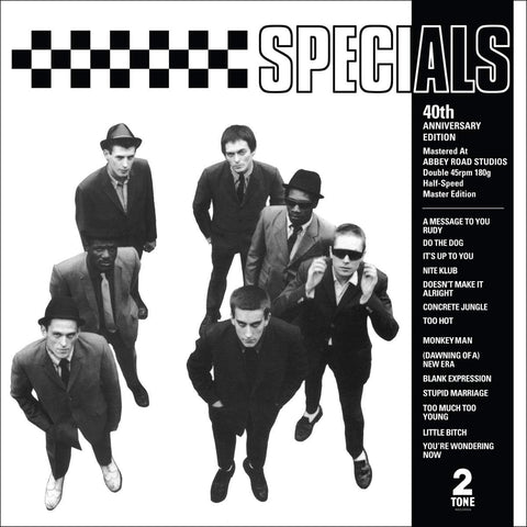 The Specials 'The Specials (40th Anniversary Half Speed Master) 2xLP