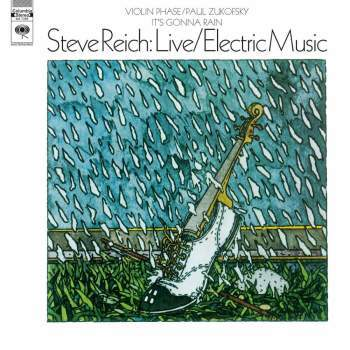 Steve Reich 'Live / Electric Music' LP