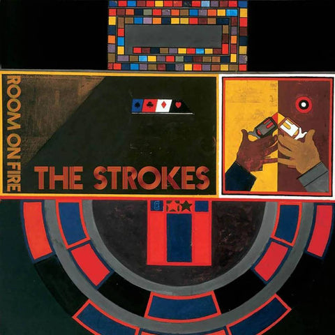 The Strokes 'Room On Fire' LP (Flame Edition)