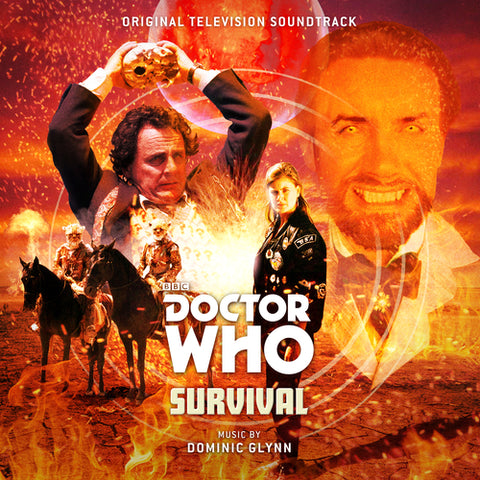Dominic Glynn 'Doctor Who: Survival' 2xLP