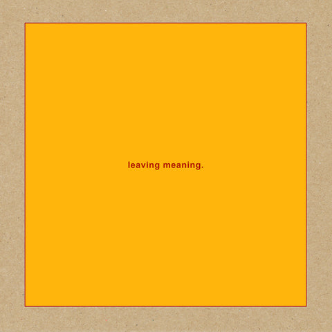 Swans 'Leaving Meaning' 2xLP
