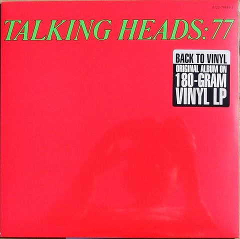 Talking Heads '77' LP (Green Vinyl)