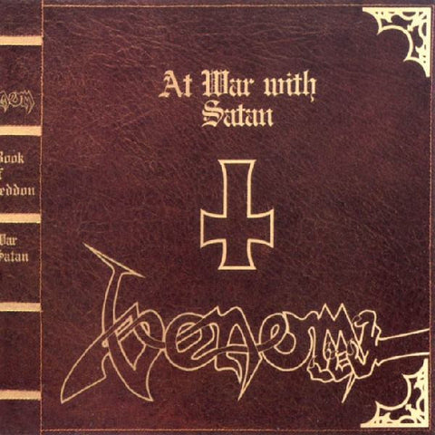 Venom 'At War With Satan' 2xLP