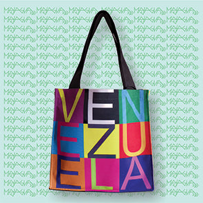 Majagua Venezuela Medium Tote Bag