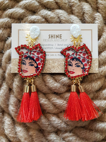 Shine Harina Pan Earrings