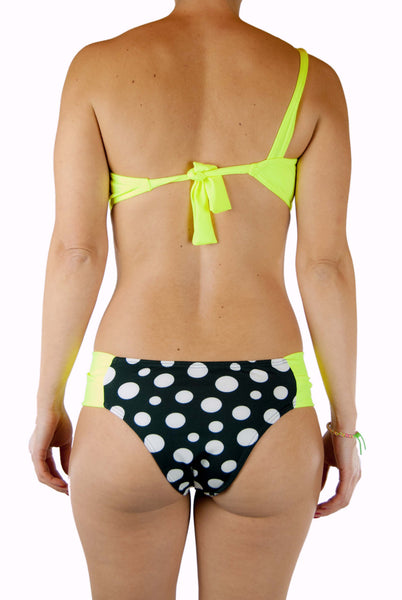 Zuky Yellow Polka Dot Swimsuit