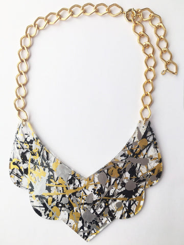 Bambola D´Oro Colorearte Large Necklace - Gold Mix