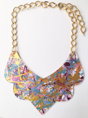 Bambola D´Oro Colorearte Large Necklace - Pastel Mix