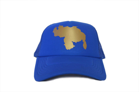 MIV Cap/Hat Venezuela Map - Blue