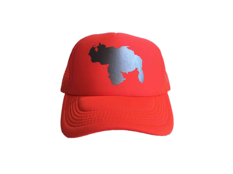 MIV Cap/Hat Venezuela Map - Neon Orange