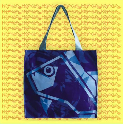 Majagua Abstract Fish Large Tote Bag