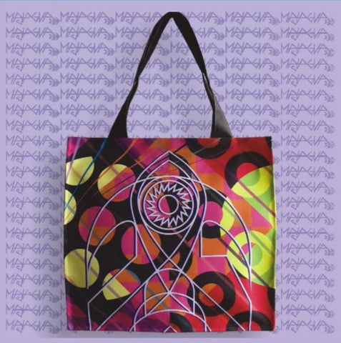 Majagua Abstract Tote Bag