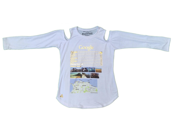 Masterpiece Women´s Google Cutout T-shirt