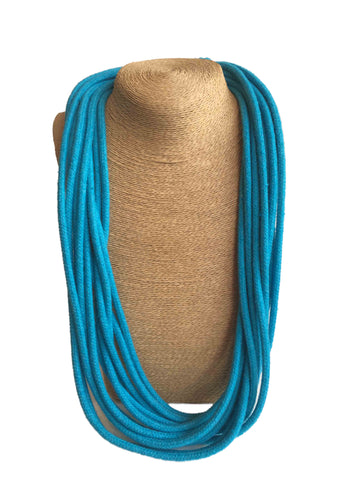 Udon Turquoise Multistrand Necklace