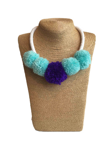 Udon Pompom Necklace