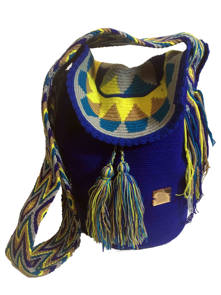 Wayuudesignve Wayuu Mochila Bag with lid