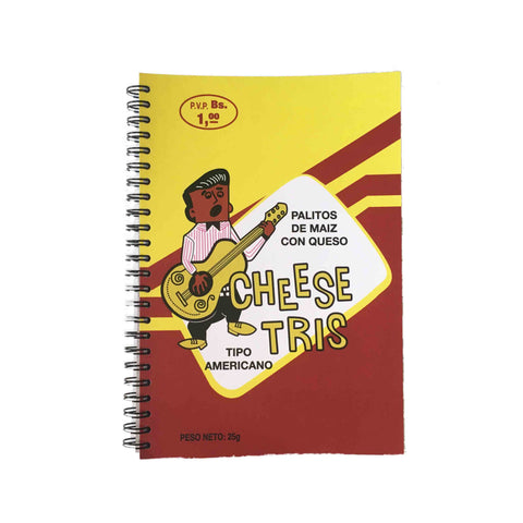 RetroCaracas Yellow Chistris Notepad (Vertical)