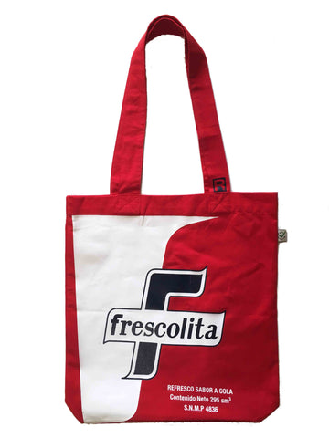 RetroCaracas Red Tote Bag - Frescolita