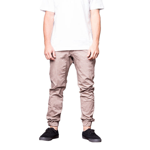 Movimiento Ilicito Jogger Trousers Beige