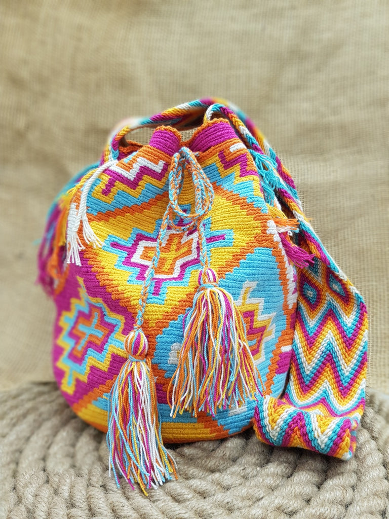 Juli Wayuu Labyrinth Large Mochila Bag