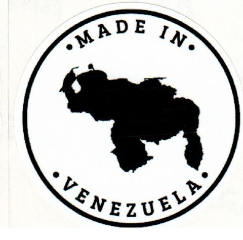 "Pega.tina ""Made in Venezuela"" Round Sticker"