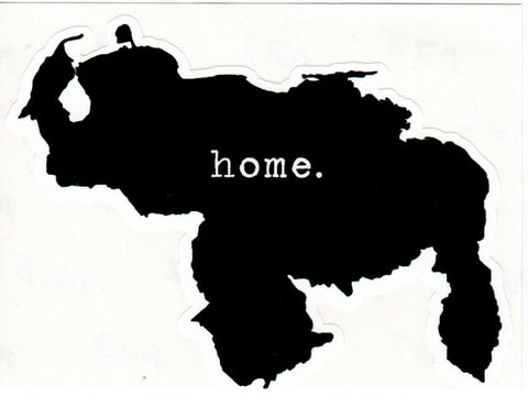 "Pega.tina ""Home Map Venezuela"" Sticker"